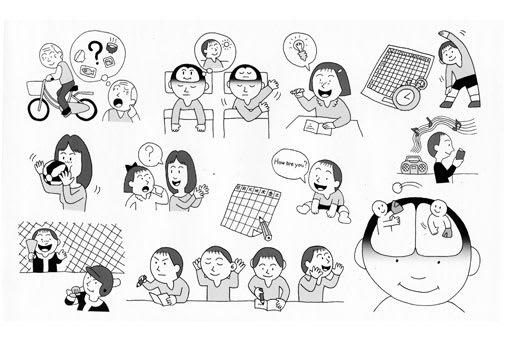 児童教育書籍の挿絵イラス2