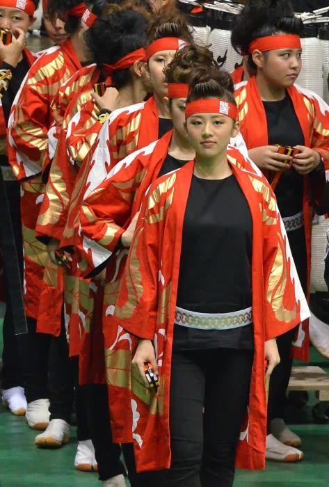 全国にも名を馳せるよさこい鳴子踊りの名門チーム・・・