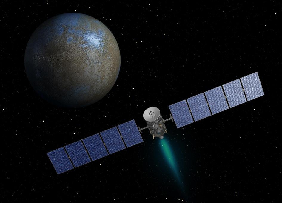 """小惑星帯では初! 準惑星""""ケレス""""で水蒸気を検出 - 宇宙のはなしと、ときどきツーリング ブログ"""