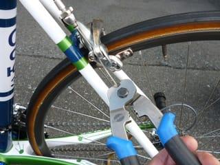 自転車の 自転車 ブレーキシュー 長さ : 自転車の ブレーキ調整 - Kinoの ...