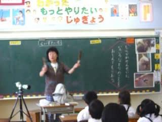 アオバズクの手笛も人気で、先生