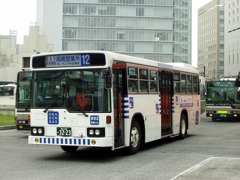岡電バスの新塗装&リンク追加の...