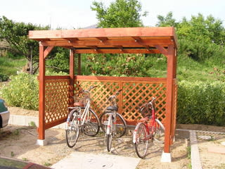 自転車置き場のDIY集(サイクル ...