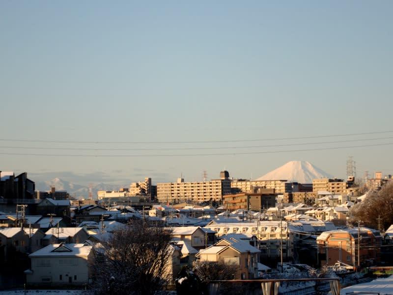 01月24日 真っ白富士山