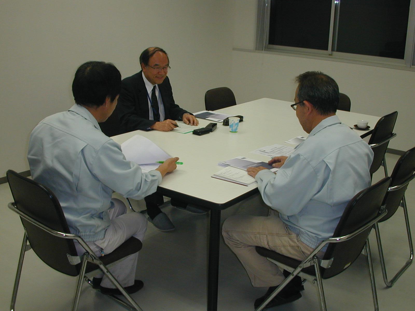 ISO9001定期監査風景1
