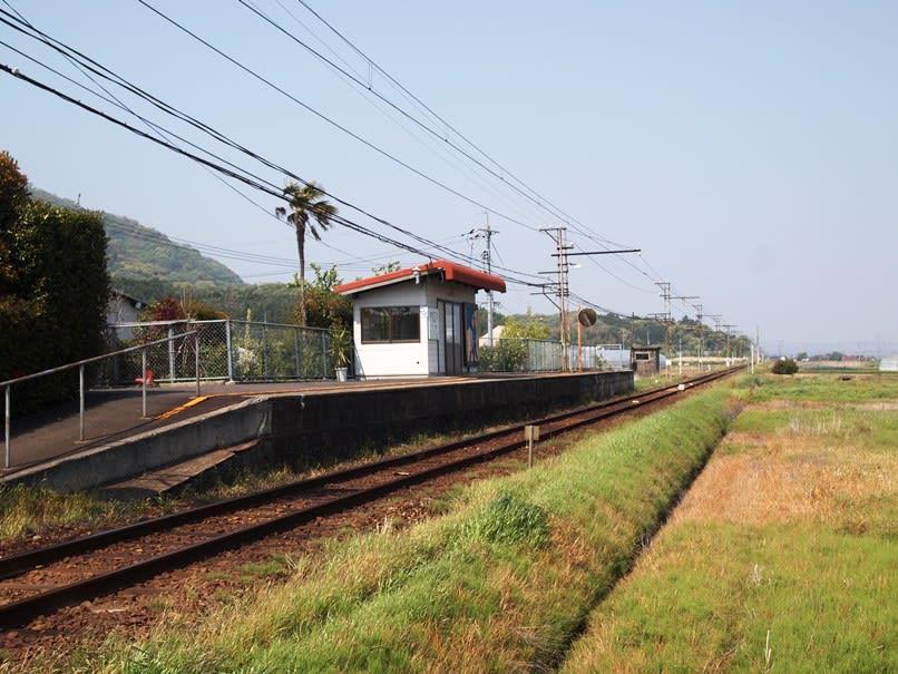 大寺駅の利用者のほとんどは通学の高校生です。島根県出雲市東林木町に位置す... 大寺駅 一畑電車