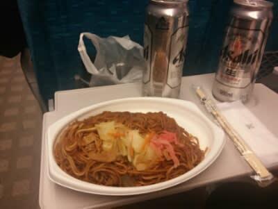 新幹線&上野De晩飯