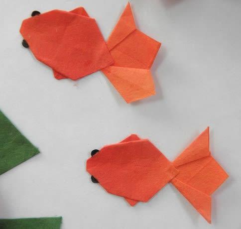 ハート 折り紙 折り紙金魚の折り方 : blog.goo.ne.jp