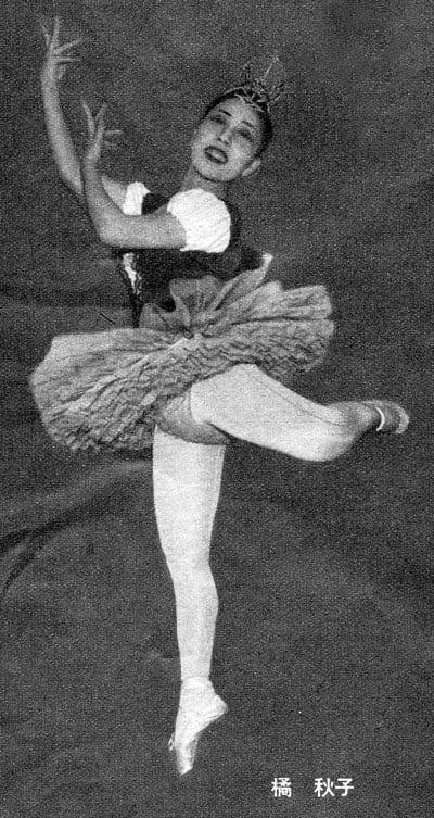 1954~55年の日本の第一線バレリ...