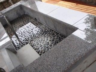 屋根付き足湯(準備中)