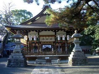 立木神社拝殿