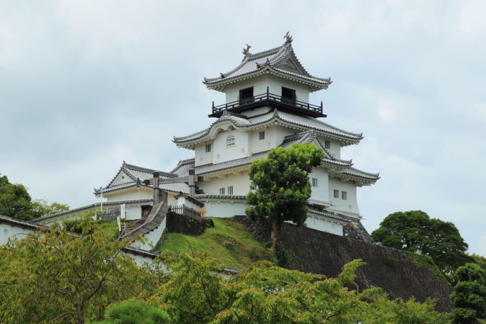 掛川城天守 いざ天守を目指して 天守下門跡から天守を望む 複合式望楼型... 掛川城