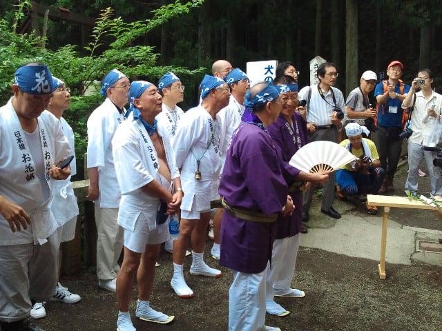 【大山阿夫利神社夏山開き】