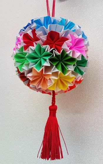 ハート 折り紙 折り紙でくす玉 : blog.goo.ne.jp