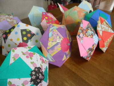 クリスマス 折り紙 折り紙傘の作り方 : matome.naver.jp