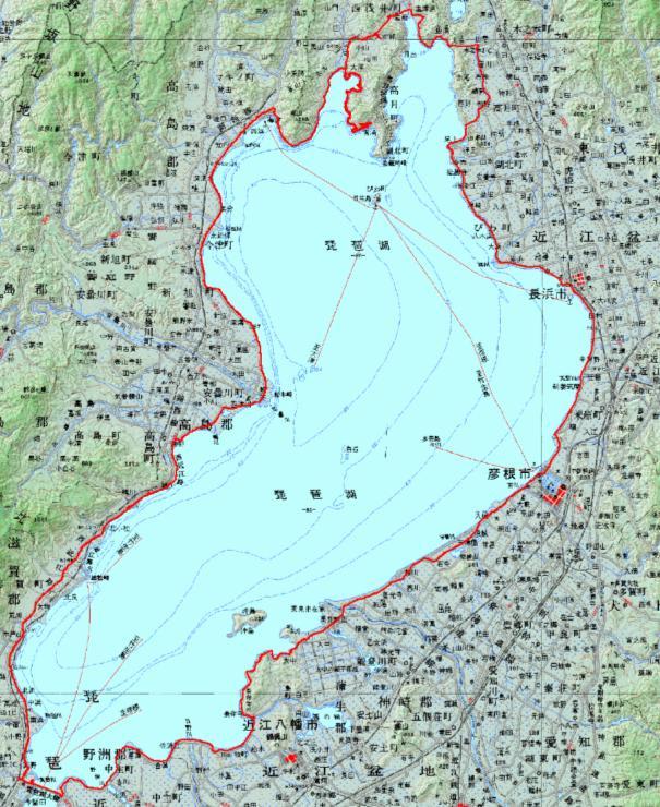 自転車の 距離計測 地図 自転車 : ... 地図に表示しました・・・でか