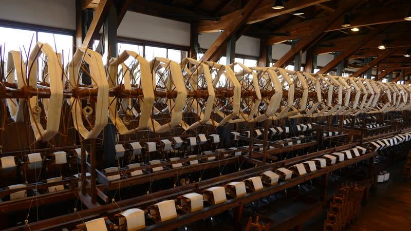 昔の紡績工場みたい