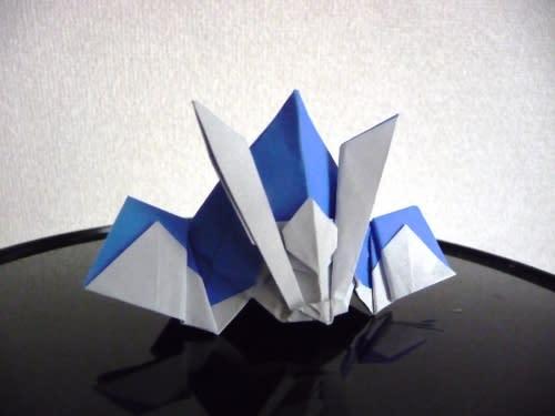 簡単 折り紙 折り紙かぶとの折り方 : blog.goo.ne.jp