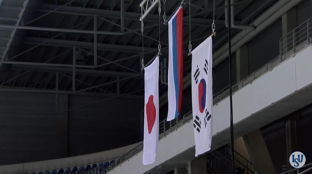 Victory Ceremony JGP Germany
