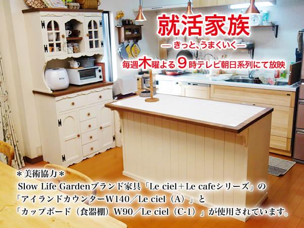 「就活家族 〜きっと、うまくいく〜」×「カントリー家具 Slow Life Garden」(2)