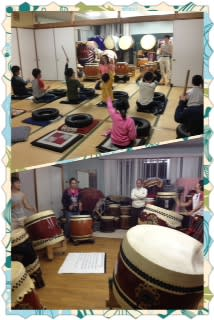 太鼓の練習日
