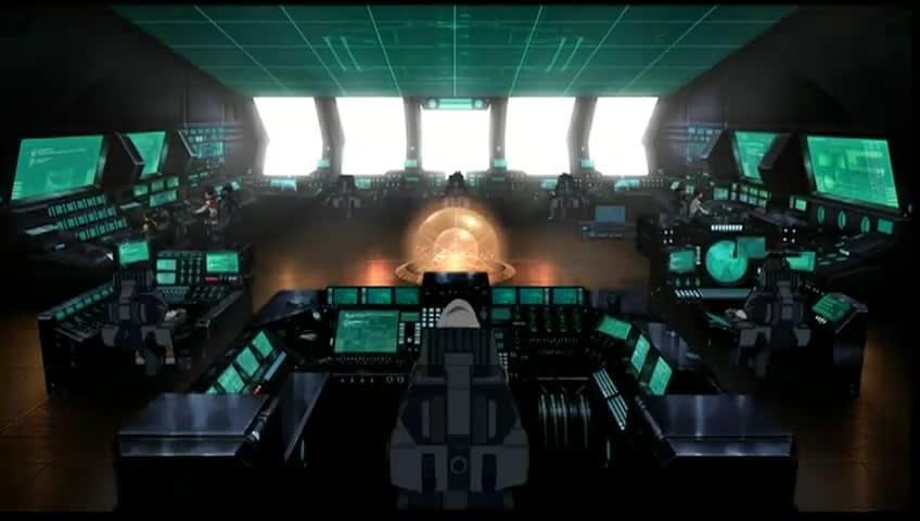 宇宙戦艦ヤマトの艦長席