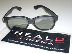 [RealD] 3Dメガネ画像