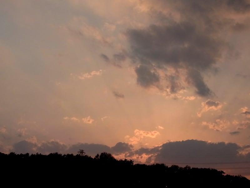 04月23日 根岸台の夕陽