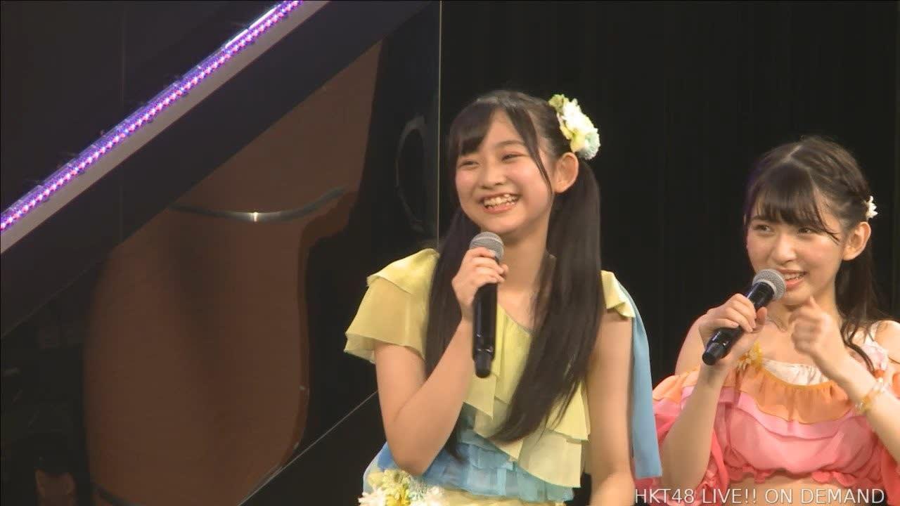 【画像】 とんでもない場所から歯が生えてる14歳美少女中学生 HKT48馬場彩華にマニア騒然wwwwwwwwwwww