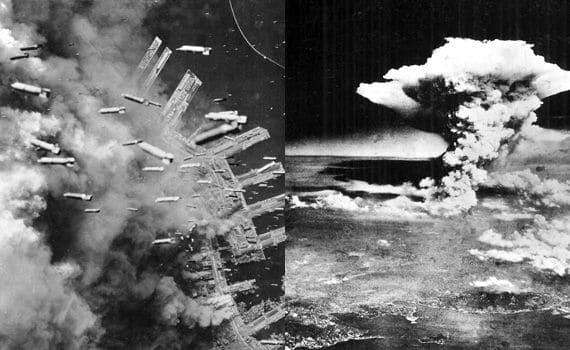 太平洋戦争末期、米軍が撮影した写真で硫黄島の戦いや日本本土爆撃、広島... 我が郷は足日木の垂水