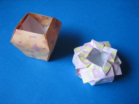 簡単 折り紙:折り紙 花瓶-blog.goo.ne.jp