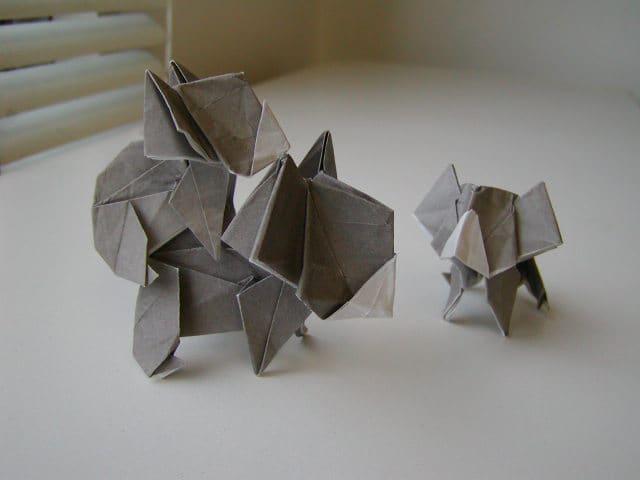 すべての折り紙 折り紙 折り方 恐竜 : 仕事はじめ(コアラの親子 ...