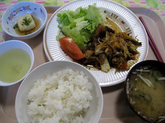 日替わりA定食(スタミナ焼肉)