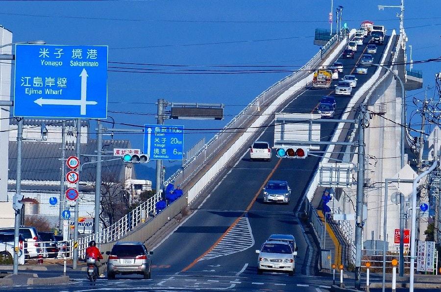 [组图] 日本江岛大桥 云霄飞车暴红网络(23p)