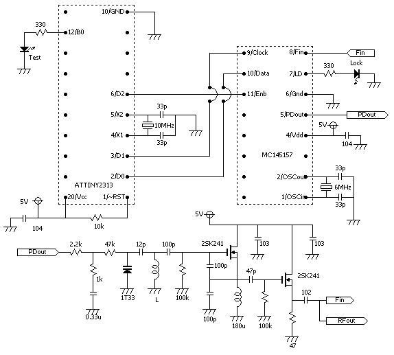 クラップ発振回路 - Clapp oscillator