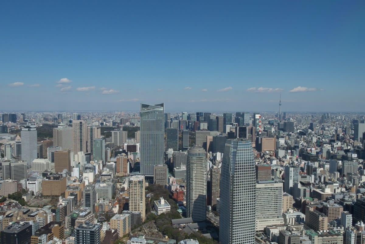 厳冬の東京タワー:特別展望台(標高270メートル)からの眺め PART1 - 緑には、東京しかない