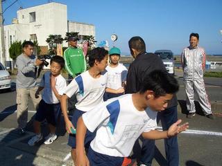 中学校のマラソン大会 - 野生の...