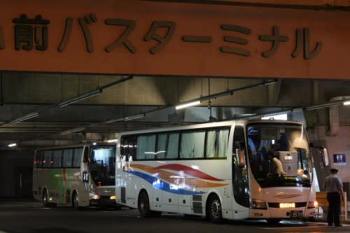 弘前で見る首都圏との都市間高速...