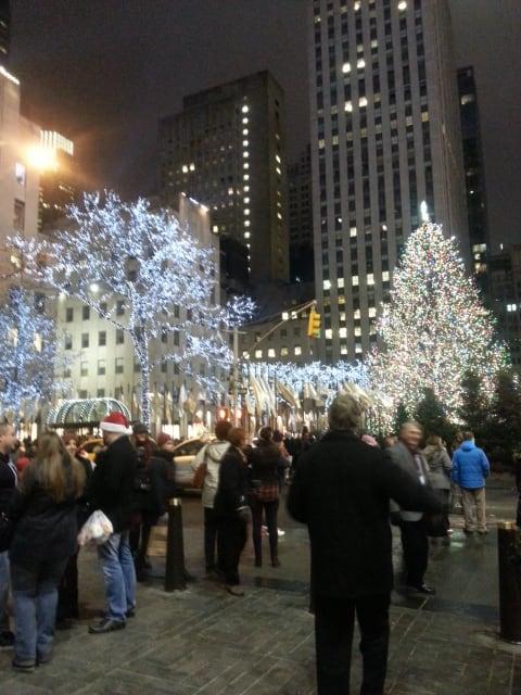 雪の日のマンハッタンお散歩 その2