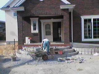 直方市Y邸外構工事 その1 写真1