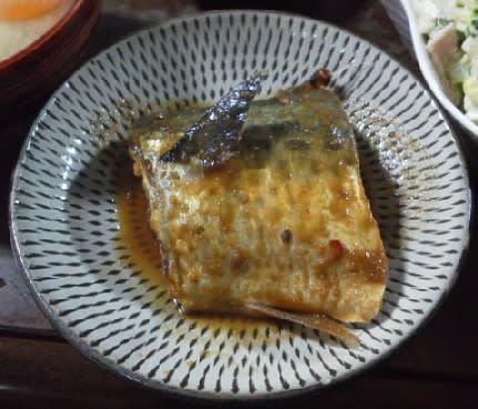 鯖のぬか味噌炊き - 日子の怪獣とあれこれ日記