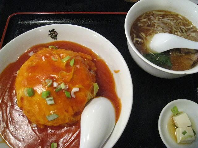日替わりランチセットB(天津丼)