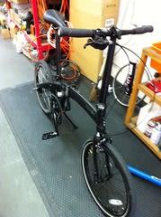 自転車の 自転車 内装8段化 : ... dahon mu uno の 内装 8 段 化 です