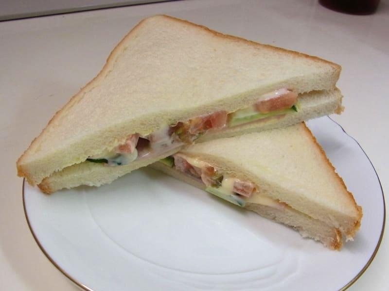 07月23日 野菜サンド