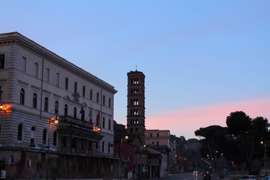 イタリア旅行記 #26 ローマの夜...