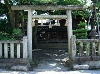 朝日町の「神明神社」