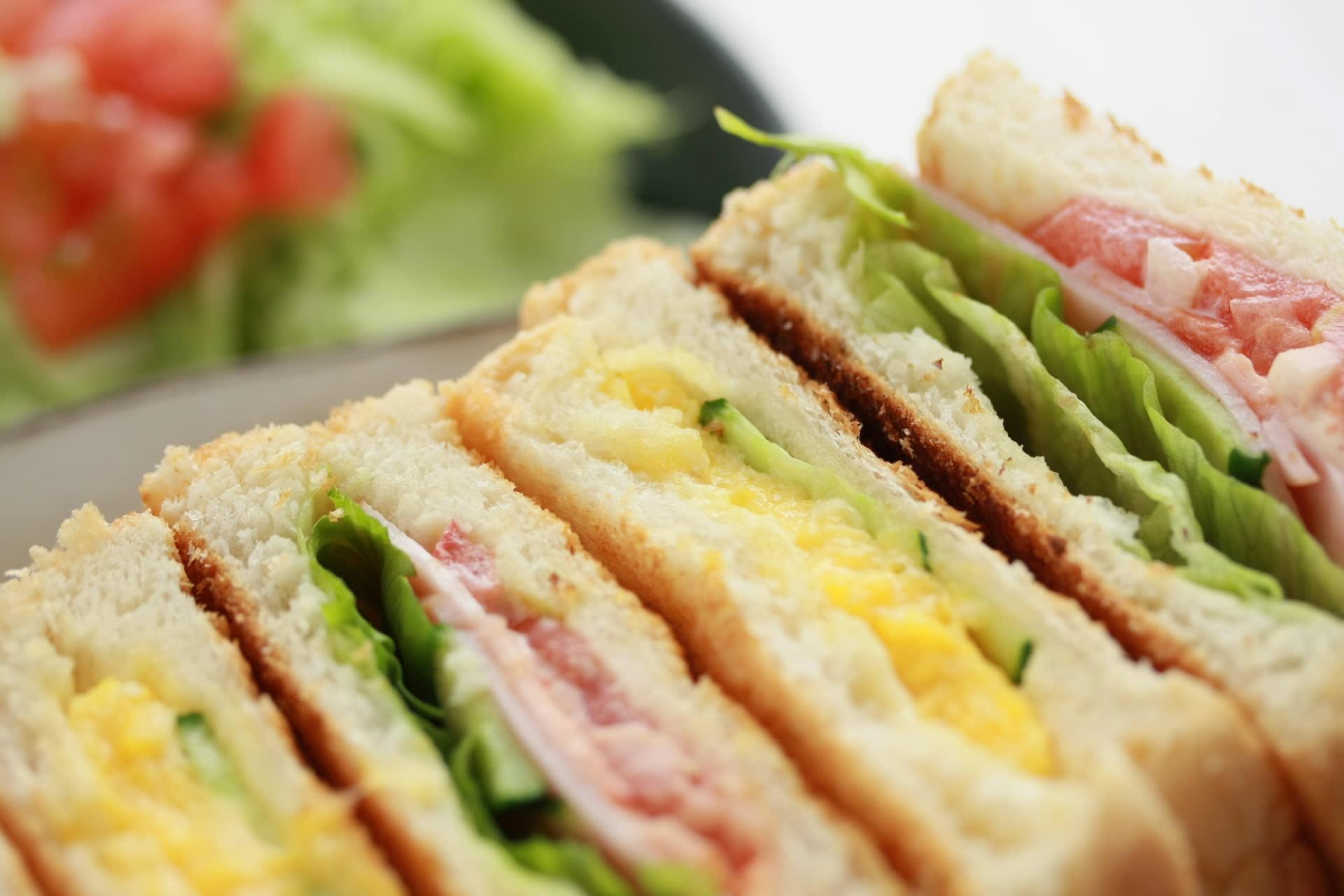 「サンドイッチの日」だって ☆ - ミックス・サンド ― ミルク ...