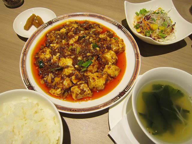 週替わりランチ(激辛麻婆豆腐)