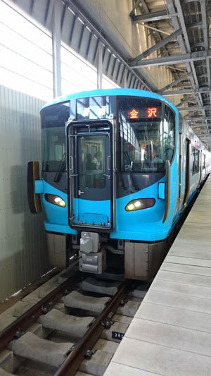 IRいしかわ鉄道521系電車