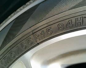 サイズは純正と同じ175/65R15